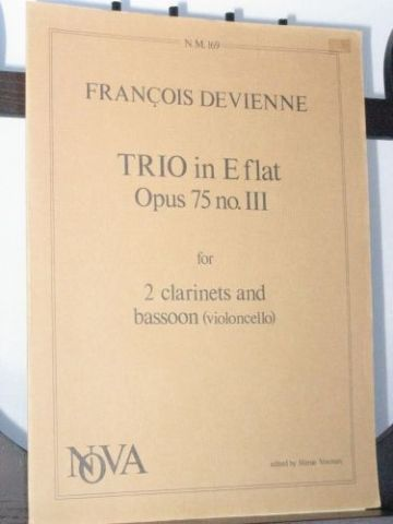 Devienne F - Trio in E Flat Op 75 No 3